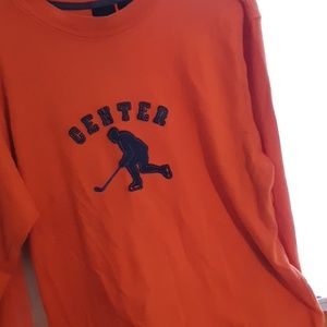 Gap xxl orange long sleeves t shirt mens